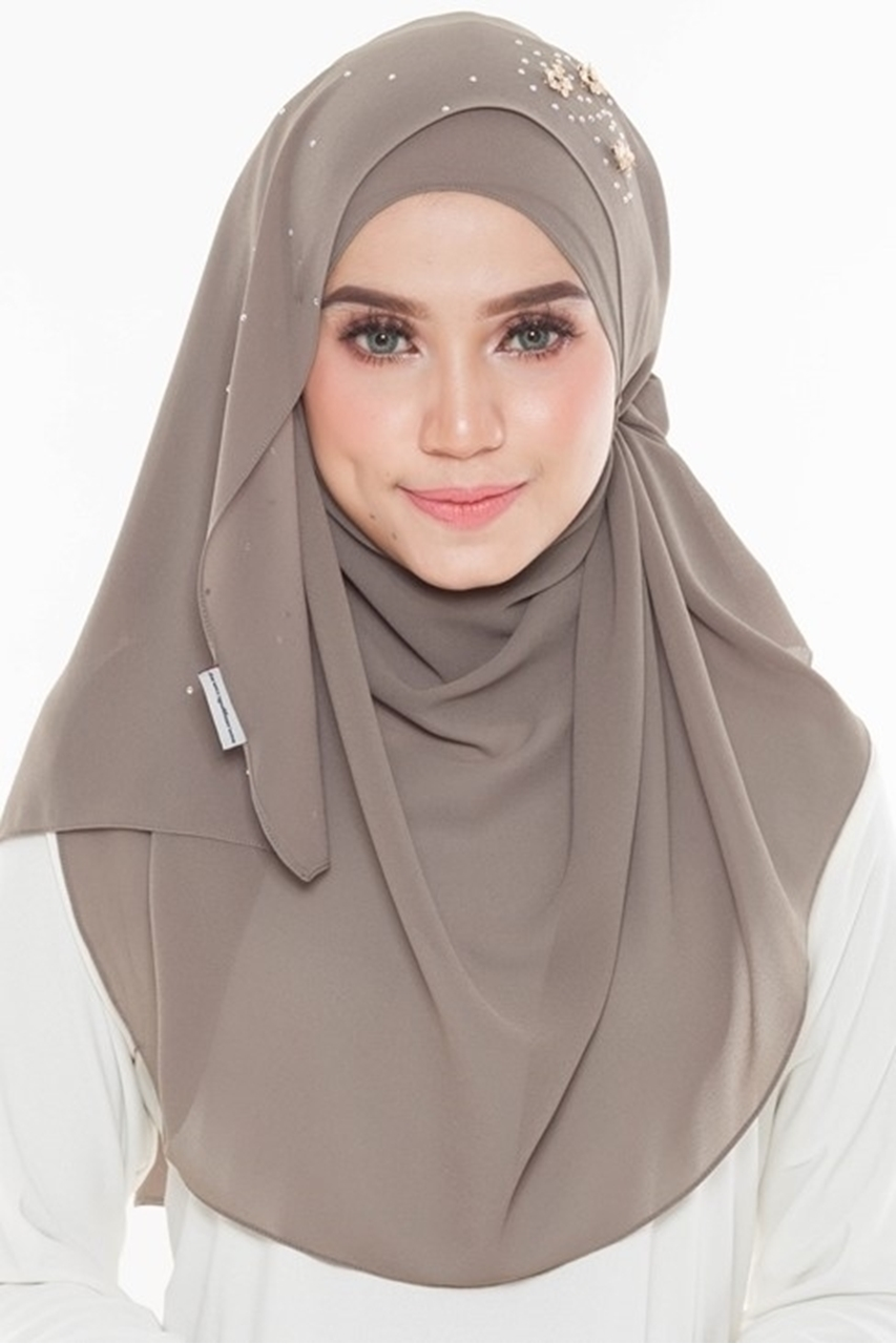 Picture of Kaitlyn Shawl Wood Brown