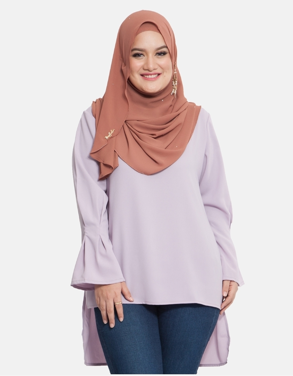 Picture of Nura Blouse Lavender