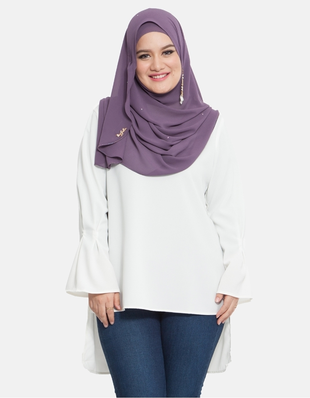 Picture of Nura Blouse White
