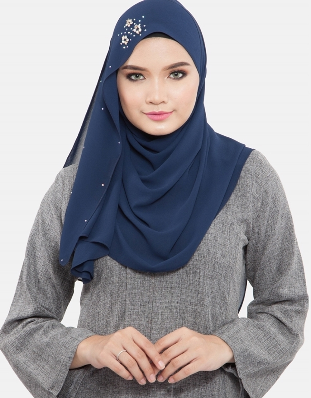 Picture of Kaitlyn Shawl Dark Blue