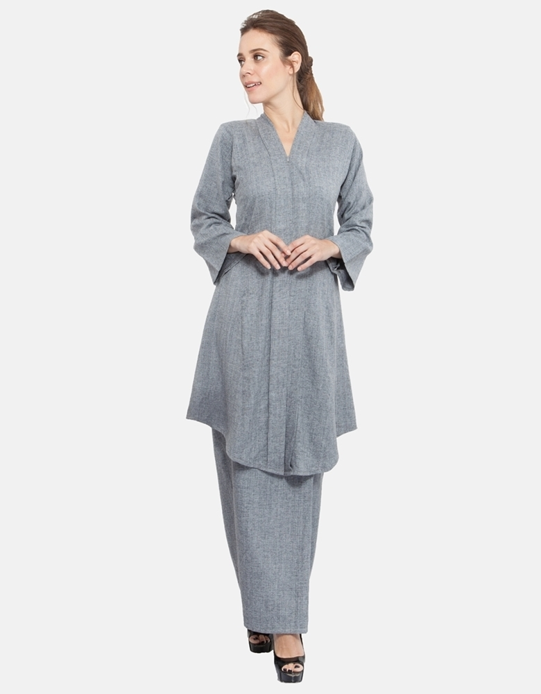Picture of Azila Kebaya Light Grey