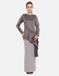 Picture of Anastasia Kurung in Grey