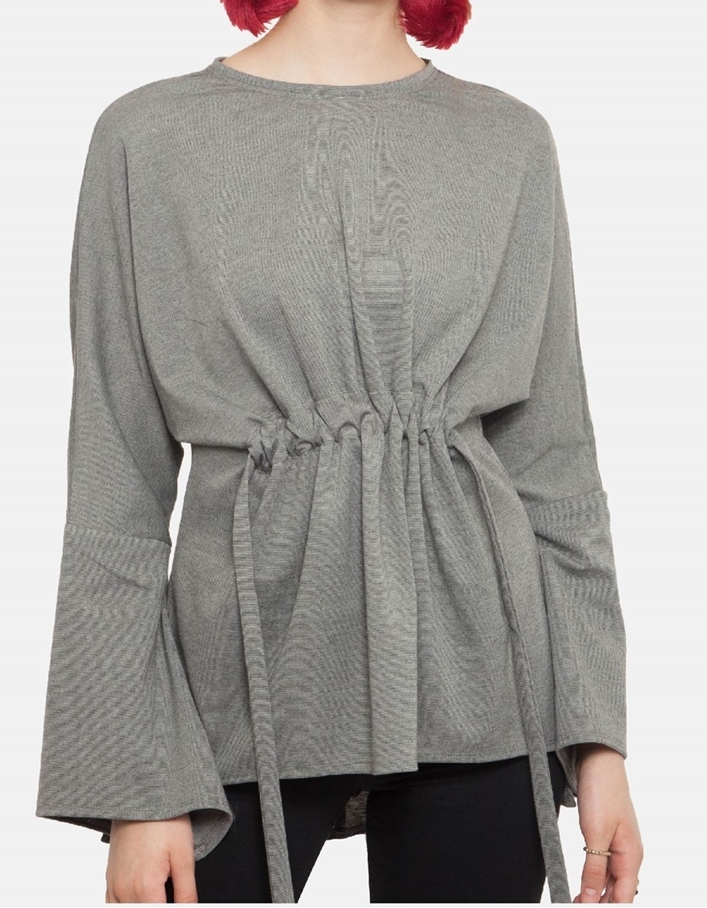 Picture of Delphy Blouse in Light grey