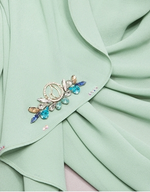 Picture of Salma Instant in Mint Green