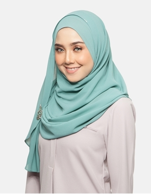 Picture of Salma Instant in Tiffany Green