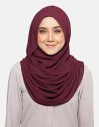 Picture of Aliya Instant in Wine Red