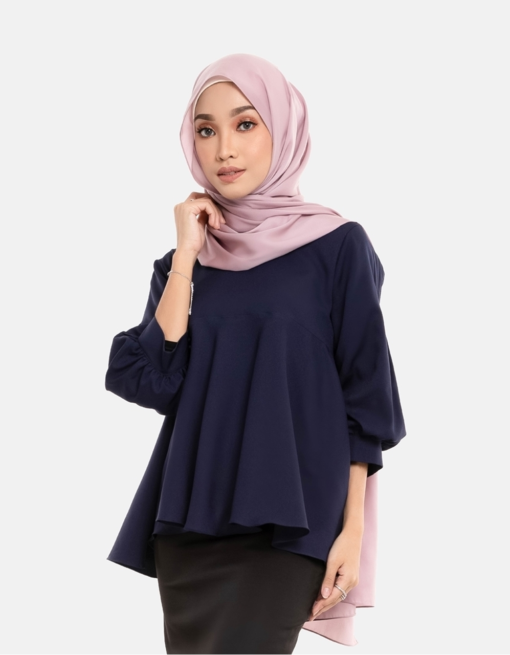 Picture of Naira Blouse in Dark Blue